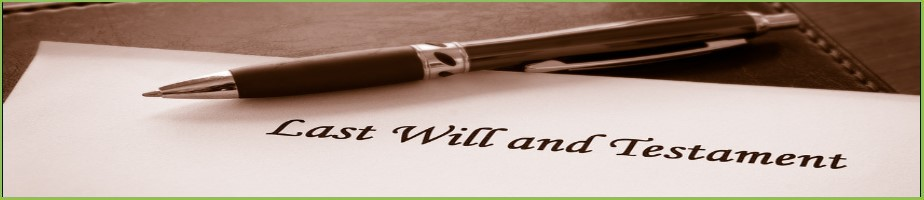 Basic Wills from £150.00